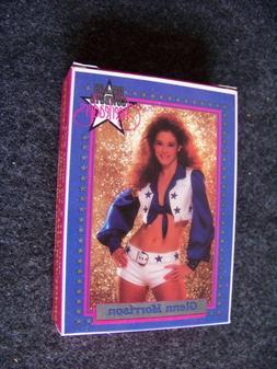 1992 Dallas Cowboys Cheerleaders collector card factory boxe