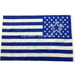 1Pc Dallas Cowboys USA flag with star and stripe 3*5 FT Bann