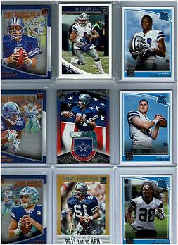 2018 Donruss Football Dallas Cowboys Team Set  Base Cards ++