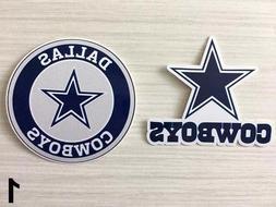 2x Dallas Cowboys Car Bumper Laptop Wall Vinyl Die Cut Stick