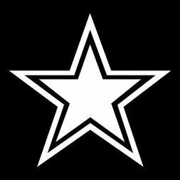 2x NFL Dallas Cowboys Vinyl Decal for Truck Car Window Stick