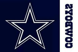 Dallas Cowboys 3' X 5' Flag. Free shipping! New in package b