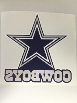 NFL Dallas Cowboys Vinyl Decal Bumper Sticker for  car Truck