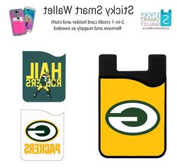 NFL Back of Phone Wallet Credit Card Holder Sleeve Case Chie