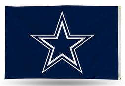Brand New NFL Dallas Cowboys  Large 3' X 5' Outdoor Team Log