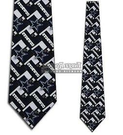 Cowboys Silk Tie Mens NWT Neck Ties Dallas Cowboys Neckties
