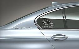 Custom Vinyl Decals For All NFL Teams - For Car or Truck Win