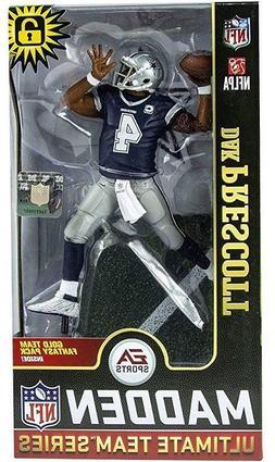 Dak Prescott Dallas Cowboys NFL Madden 19 Figure EA Sports N