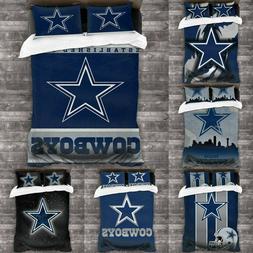 dallas cowboys 3pcs bedding set duvet cover