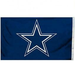 Dallas Cowboys 3x5 FT Flag Football Blue Star NFL Banner