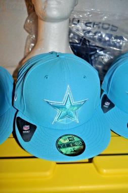Dallas Cowboys New Era 59FIFTY Light Blue Baseball Hat Cap M
