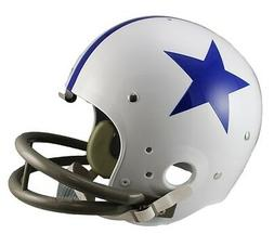 DALLAS COWBOYS 60-63 TK THROWBACK FULL SIZE FOOTBALL HELMET