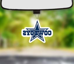 Dallas Cowboys Air Freshener New Car Smell