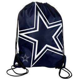 Dallas Cowboys Back Pack Sack Drawstring Bag Tote NEW Backpa