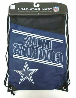 Dallas Cowboys Drawstring Incline Bag Back-sack Backpack NFL