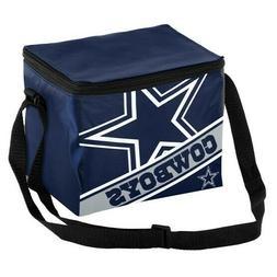 Dallas Cowboys Big Logo w/Stripe 6 Pack Insulated Lunch Bag/
