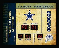 Team Sports America Dallas Cowboys Bluetooth Scoreboard Wall