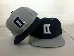 Dallas Cowboys D Snap Back Cap Hat Alternate Embroidered Adj