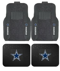 Dallas Cowboys Deluxe Auto Floor Mats - Car, Truck, SUV