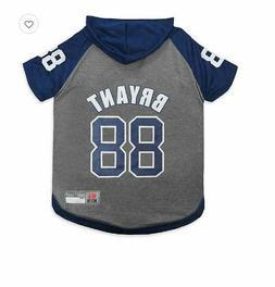 NFL Dallas Cowboys Dez Bryant Extra Small Pet Hoodie T-Shirt