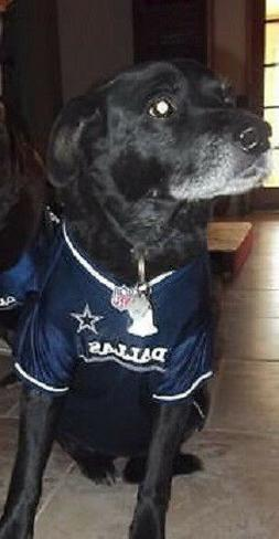 Dallas Cowboys Dog Jersey NFL Officially Licensed Football P