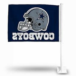 """Dallas Cowboys Flag Car Auto Window 15"""" x 11"""""""