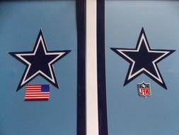 Dallas Cowboys football helmet decals set