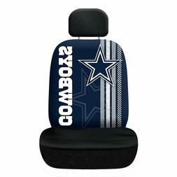 Dallas Cowboys Football Low Back Seat Cover Universal For Ca