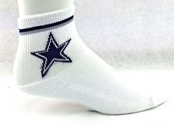 Dallas Cowboys Football NFL White Quarter Blue Grey