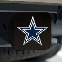 Dallas Cowboys Heavy Duty 3-D Color Emblem Black Chrome Meta