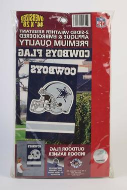 "Dallas Cowboys "" Helmet "" 44"" x 28"" Applique and Embroidered"