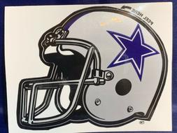"""DALLAS COWBOYS HELMET DECAL   4"""" X 5""""  PERFECT FOR YOUR"""