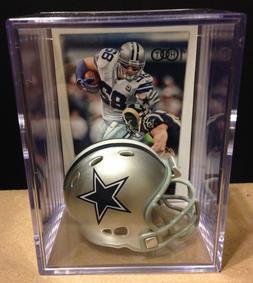 Dallas Cowboys Jason Witten mini Revolution Helmet Shadowbox