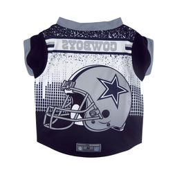 Dallas Cowboys Licensed NFL Dog Pet Performance Tee Sizes S-