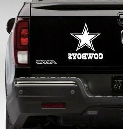 dallas cowboys logo vinyl car truck decal