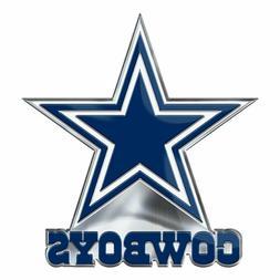 Dallas Cowboys Metal Die Cut Auto Emblem Decal Sticker NFL