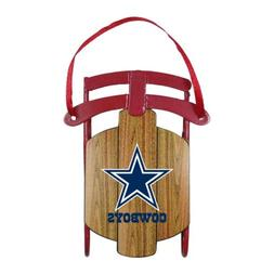 DALLAS COWBOYS METAL SLED ORNAMENT SPORTS COLLECTOR SERIES F