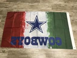 Dallas Cowboys  Mexico Flag 3x5 ft Banner We Dem Boyz