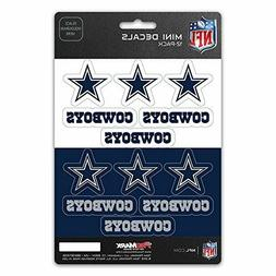Dallas Cowboys Mini Decals Stickers 12 Pack FAST USA SHIPPER