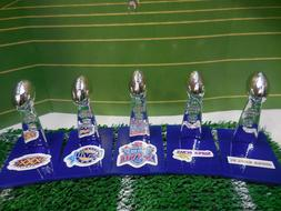 Dallas Cowboys Mini Lombardi Trophy Set Mcfarlane/Pocket Pro