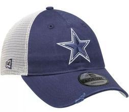 New Era Dallas Cowboys Navy/Natural Stated Back Trucker 9TWE