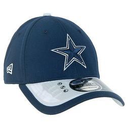 DALLAS COWBOYS NFL CAP/HAT NAVY FLEX FIT BASEBALL CAP W/ 2 T