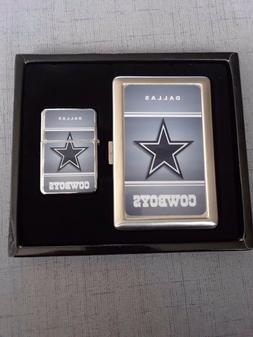 DALLAS COWBOYS NFL CLASSIC LOGO CIGARETTE CASE/ WALLET AND L