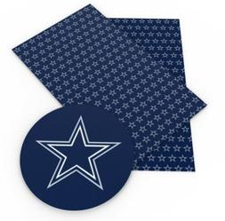 Dallas Cowboys NFL FOOTBALL SPORTS Faux Leather Sheets
