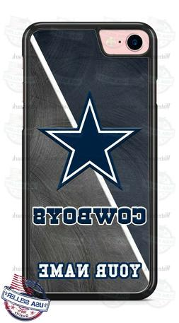 Dallas Cowboys NFL Football with Name Phone Case Cover For i