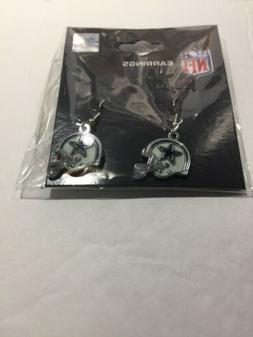DALLAS COWBOYS NFL Small helmet Dangle women/girl Earrings j