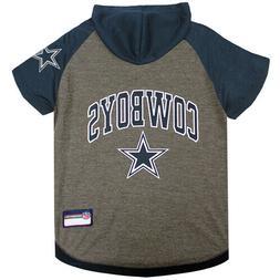 Dallas Cowboys Pet Hoodie T-Shirt - Large