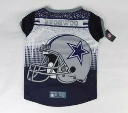 Dallas Cowboys Pet Performance Blue Tshirt XL New
