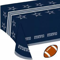 Dallas Cowboys Plastic Table Cover