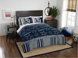 Dallas Cowboys NFL Queen Comforter & Logo'd Sheets, 5 Piece